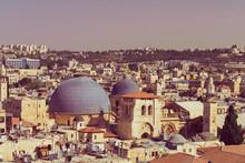 Old City Jerusalem, View On Ro...
