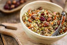 Salade Quinoa Noisette Et Cran...