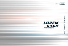 Speed Horizontal Lines Background With Light Effect