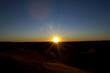 sunset in the desert Erg Chebbi morocco