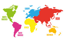Vector Illustration Of Map Of ...
