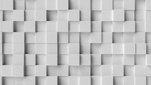 White Background Texture. 3d Rendering, 3d Illustration.