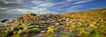 Giants Causeway Rocks And Ocea...