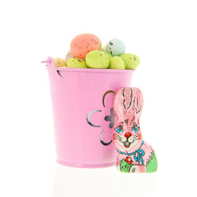 Pastel Colored Easter Eggs In ...