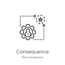 Consequence Icon Vector From R...