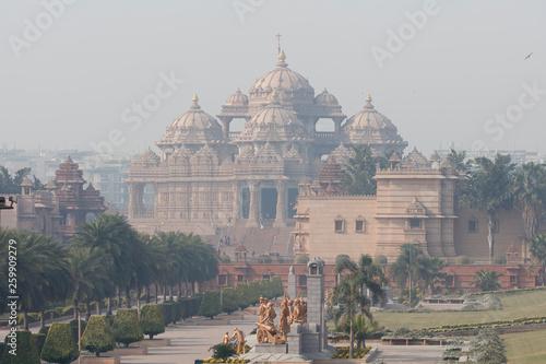 Spoed Fotobehang Delhi Hindu Mosque