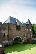 Detail Of Gate Koppelpoort In Amersfoort, The Netherlands