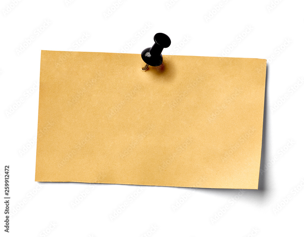 Fototapety, obrazy: note paper blank sign tag label