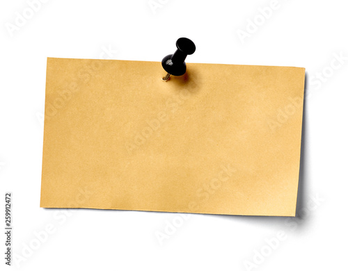 note paper blank sign tag label Fototapeta