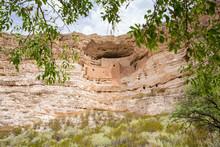Montezuma Castle National Monument In Arizona, USA