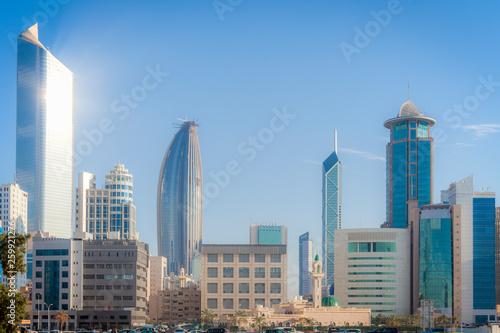 Fényképezés  Architecture of Kuwait City