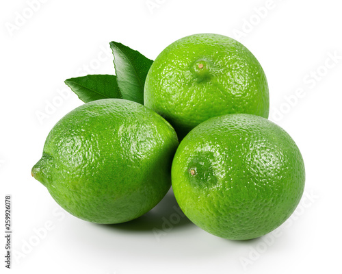 Valokuva Limes with leaves