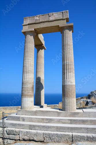Fotografia  Ancient Lindos, Acropolis