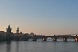 Fototapeta Londyn - Praga o wschodzie słońca
