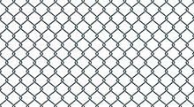 Fence Black Geometric Backgrou...