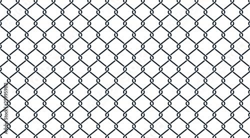 Valokuva Fence black geometric background - stock vector