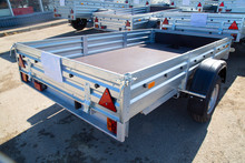 Open Car Trailer,ow; Cargo; Car Trailer; Trailer Truck; Tow Bar.