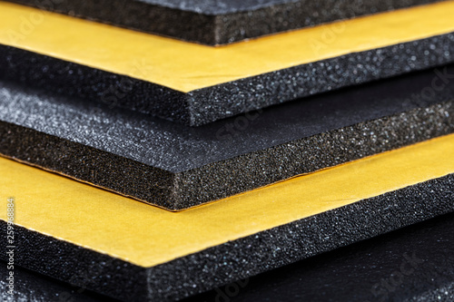 Photo  Closed cell pe foam physical (Car Sound Insulation).
