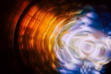 Sound Waves In The Dark In Ful...