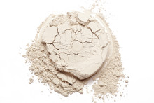 Cosmetic Powder Isolated On Wh...