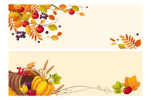 Thanksgiving Background With S...