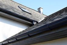 Grey Asphalt Shingles Roof Con...