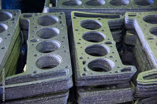 Fotomural Cylinder head gasket car engine