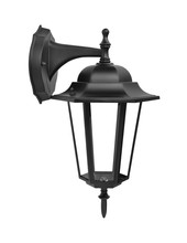 Isolated Modern Street Outdoor Architecture Lamp