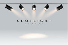 Five Modern Black Spotlights S...