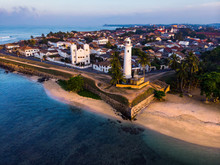 Dutch Fort In Galle City Of Sr...