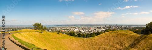 Foto  Volcano crater in Auckland, New Zealand