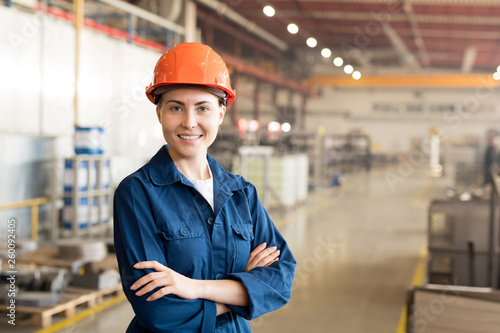 Engineer in factory