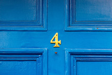 Fascinating Four Centred On A Front Door