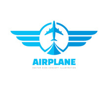 Airplane - Concept Business Lo...