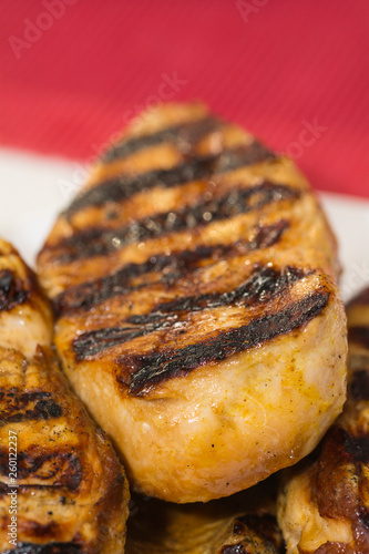 Photo  Hähnchenbrust auf dem Grill