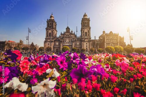 Valokuva  Metropolitan Cathedral Maria de Assunção in Zocalo, Center of Mexico City