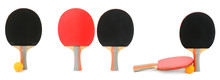 Set Table Tennis Rackets Isola...