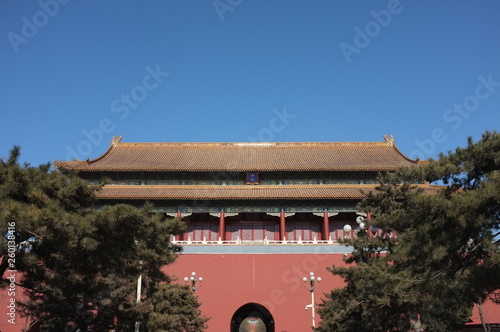 Photo  Forbidden City in China