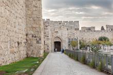Entering The Holy City Of Jeru...