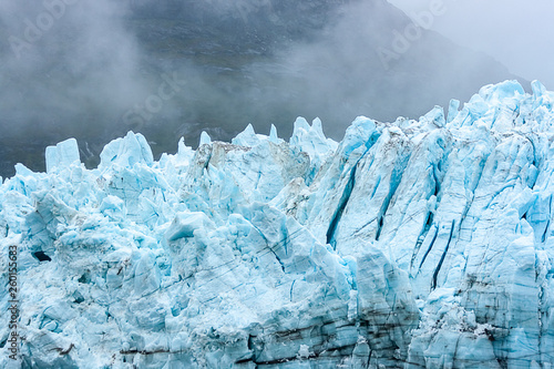 The Peaks of a Glacier Canvas-taulu