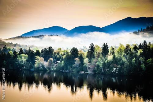 Photo Mirror Lake Mist