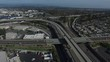 Aerial View of Southern California Freeway.MOV