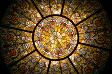 A Stained Glass Dome