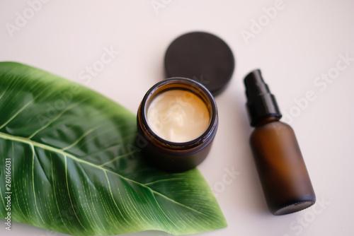 Obraz Beauty cosmetic skincare background - fototapety do salonu