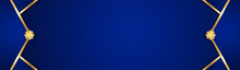 Abstract Blue Background In Pr...