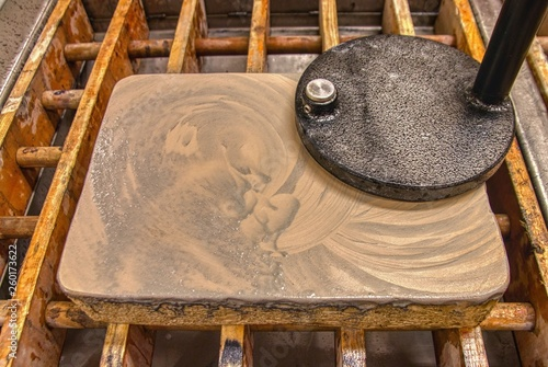 Cuadros en Lienzo Limestone Tablets used in Lithography Printing