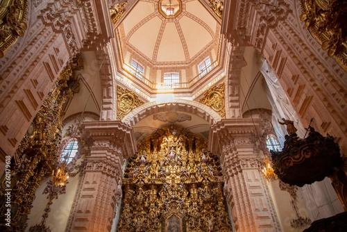 Interior Templo de Santa Prisca de Taxco Canvas Print