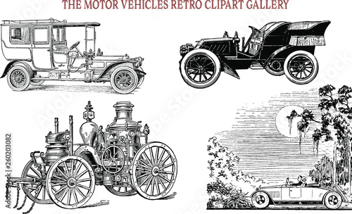 Photo The Motor Vehicles Vintage ClipArt gallery