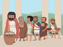 People Voting In Ancient Greec...