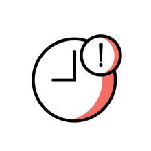 Delay Icon Vector Design Moder...